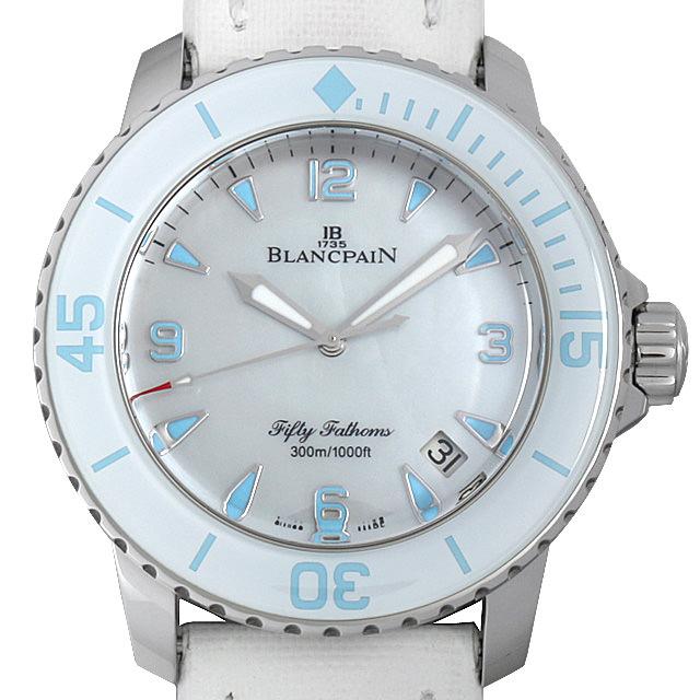 【48回払いまで無金利】SALE ブランパン フィフティファゾムス オートマティック 5015A-1144-52A メンズ(0ATMBPAU0001)【中古】【腕時計】【送料無料】