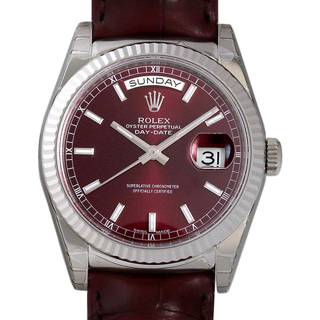 ロレックス デイデイト オマーン限定 118139 チェリー メンズ(0015ROAN0002)【新品】【腕時計】【送料無料】