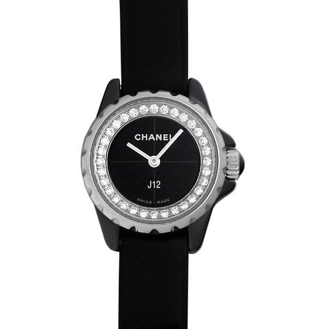 シャネル J12 XS ブラック H4663 レディース(002GCHAR0004)【新品】【腕時計】【送料無料】
