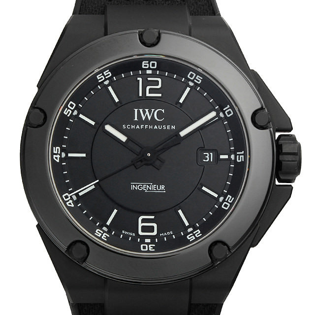 【48回払いまで無金利】IWC インヂュ二ア オートマティック AMG ブラックシリーズ セラミック IW322503 インジュニア メンズ(002YIWAN0001)【新品】【腕時計】【送料無料】