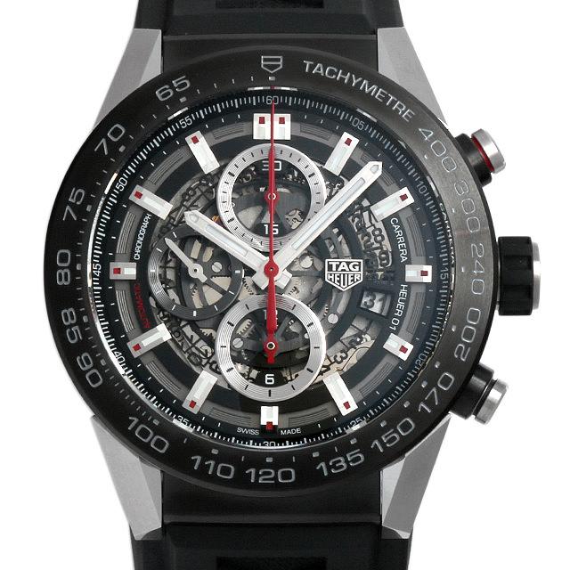 タグホイヤー カレラ キャリバーホイヤー01 CAR2A1Z.FT6044 メンズ(0014THAS0001)【中古】【未使用】【腕時計】【送料無料】