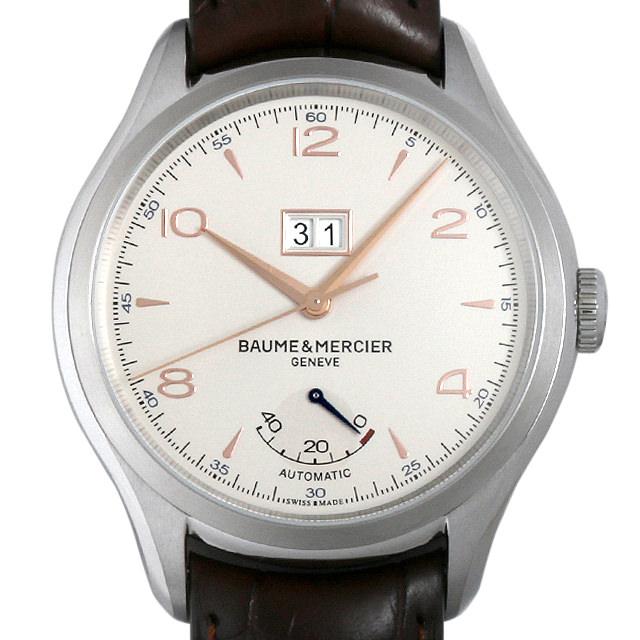 ボーム&メルシエ クリフトン ビックデイト&パワーリザーブ MOA10205 メンズ(007UBMAS0003)【未使用】【腕時計】【送料無料】