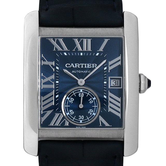 カルティエ タンクMC WSTA0010 メンズ(001HCAAS0002)【中古】【未使用】【腕時計】【送料無料】