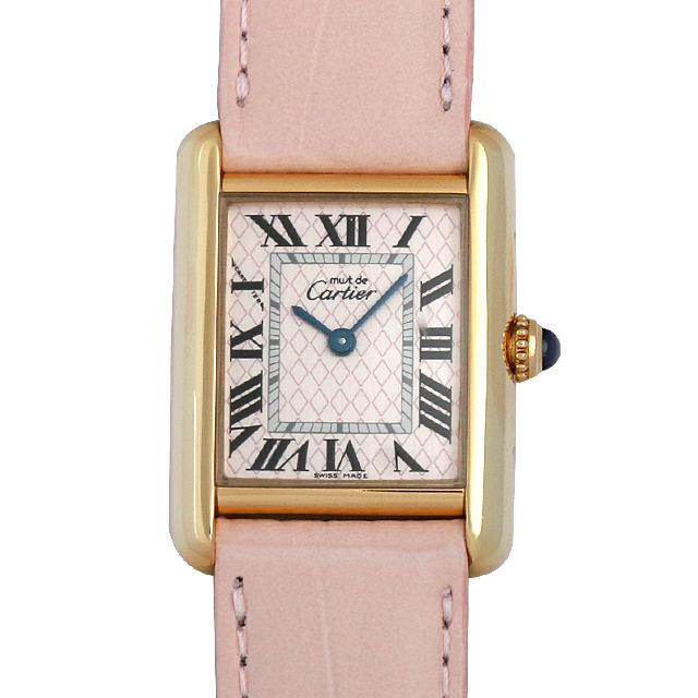【48回払いまで無金利】カルティエ マストタンク ヴァーミリオン W1018687 レディース(001HCAAU0052)【中古】【腕時計】【送料無料】