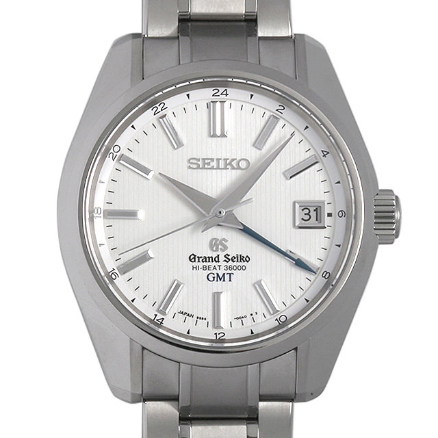 【48回払いまで無金利】グランドセイコー GMT メカニカル ハイビート マスターショップ限定 SBGJ011 メンズ(0063SEAU0007)【中古】【腕時計】【送料無料】