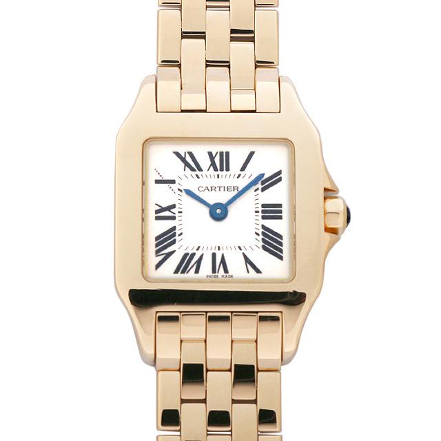 【48回払いまで無金利】SALE カルティエ サントス ドゥ モワゼル W25063X9 レディース(006XCAAU0093)【中古】【腕時計】【送料無料】