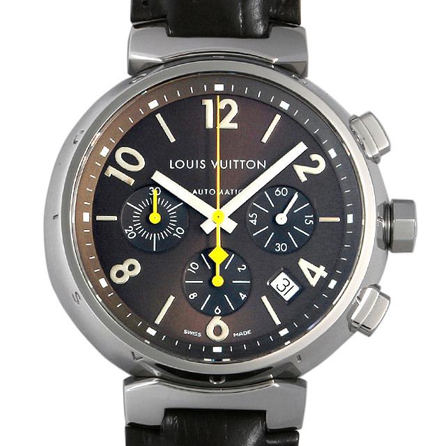 ルイヴィトン タンブール クロノグラフ Q1121 メンズ(007ULVAU0012)【中古】【腕時計】【送料無料】