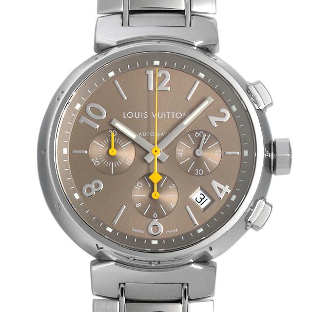 【48回払いまで無金利】ルイヴィトン タンブール クロノグラフ Q1122 メンズ(007ULVAU0013)【中古】【腕時計】【送料無料】