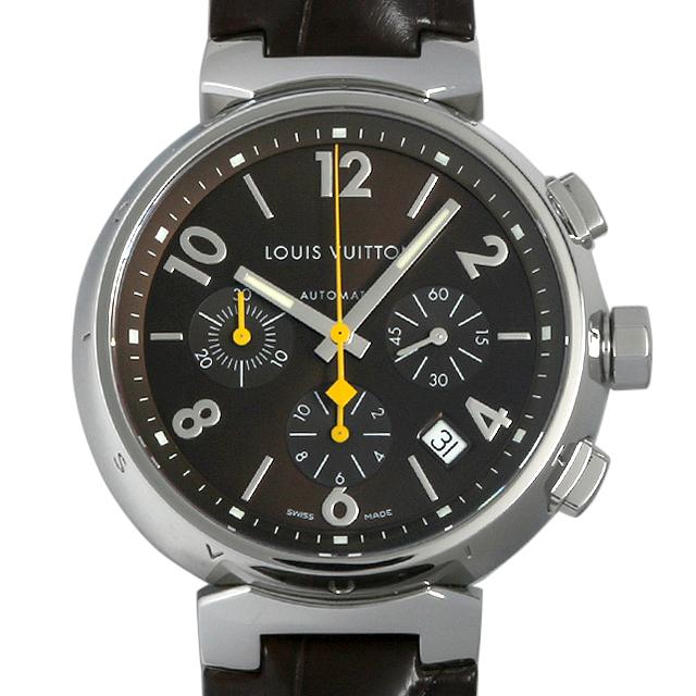 ルイヴィトン タンブール クロノグラフ Q1121 メンズ(007ULVAU0014)【中古】【腕時計】【送料無料】