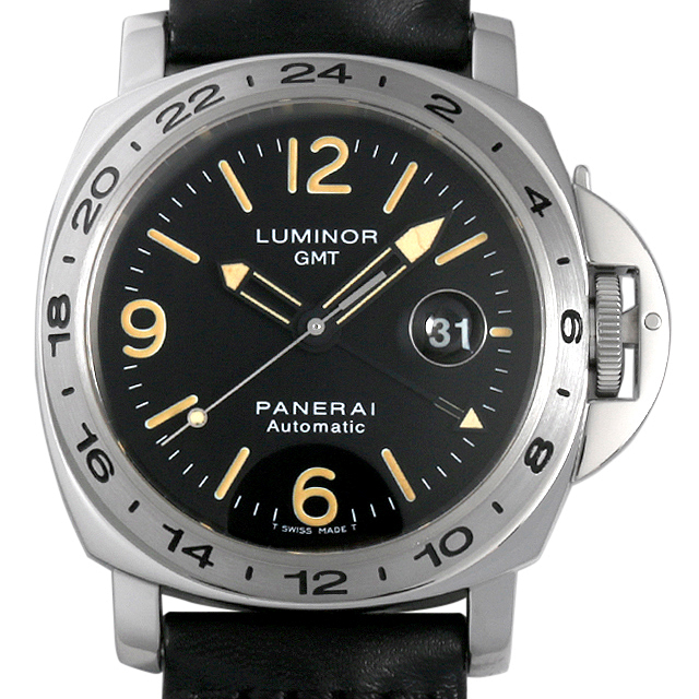 パネライ ルミノールGMT A番 PAM00023 メンズ(007UOPAU0068)【中古】【腕時計】【送料無料】