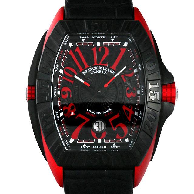 【48回払いまで無金利】フランクミュラー コンキスタドール グランプリ エルガ 8900SC DT GPG メンズ(008KFRAU0026)【中古】【腕時計】【送料無料】
