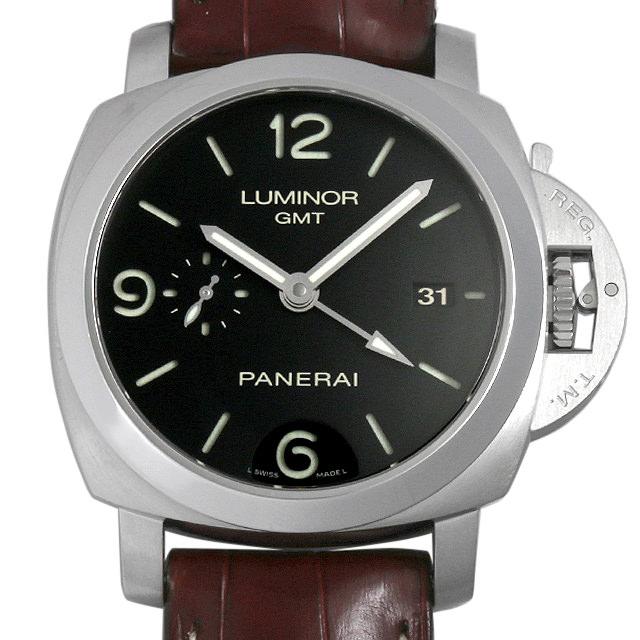 【48回払いまで無金利】パネライ ルミノール1950 3DAYS GMT L番 PAM00320 メンズ(009MOPAU0025)【中古】【腕時計】【送料無料】