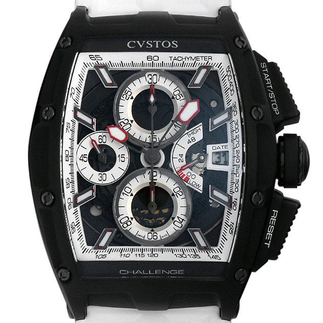 【48回払いまで無金利】クストス チャレンジ クロノII LEON RACING CVT-CHR2-LEON BST メンズ(0403CVAU0001)【中古】【腕時計】【送料無料】
