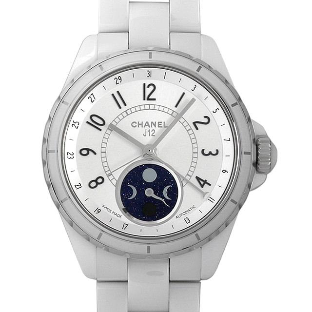 【48回払いまで無金利】シャネル J12 ファーズ ドゥ リュヌ H3404 メンズ(081ACHAU0001)【中古】【腕時計】【送料無料】