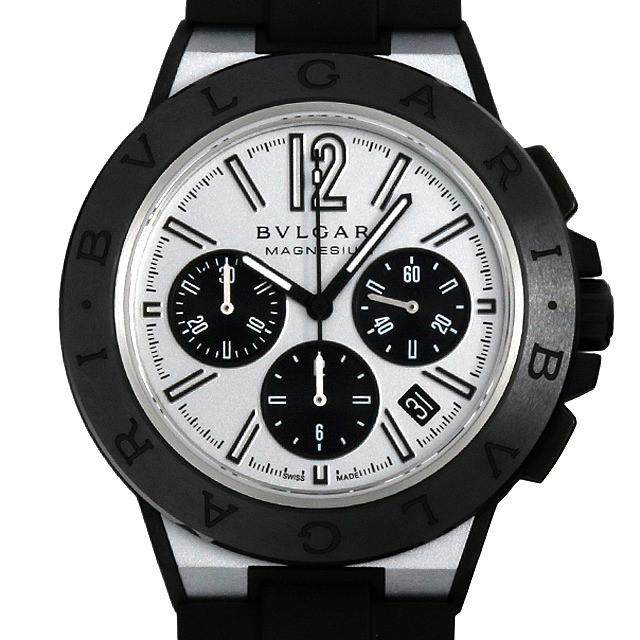 【48回払いまで無金利】ブルガリ ディアゴノ マグネシウム クロノグラフ DG42WSMCVDCH メンズ(09G0BVAU0001)【中古】【腕時計】【送料無料】