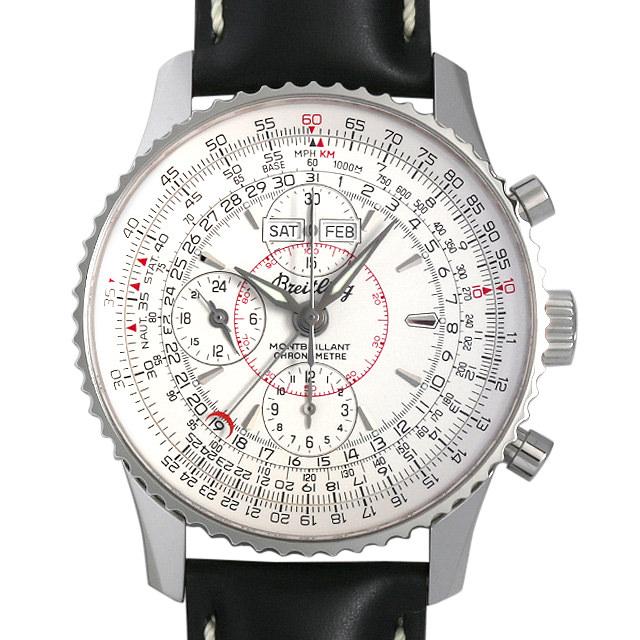 ブライトリング ナビタイマー モンブリラン ダトラ A213G18LBD(A21330) メンズ(0A07BRAU0001)【中古】【腕時計】【送料無料】