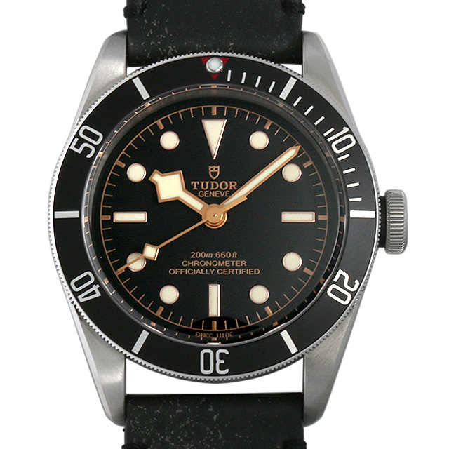 チューダー ヘリテージ ブラックベイ 79230N レザーストラップ メンズ(0671TUAN0049)【新品】【腕時計】【送料無料】