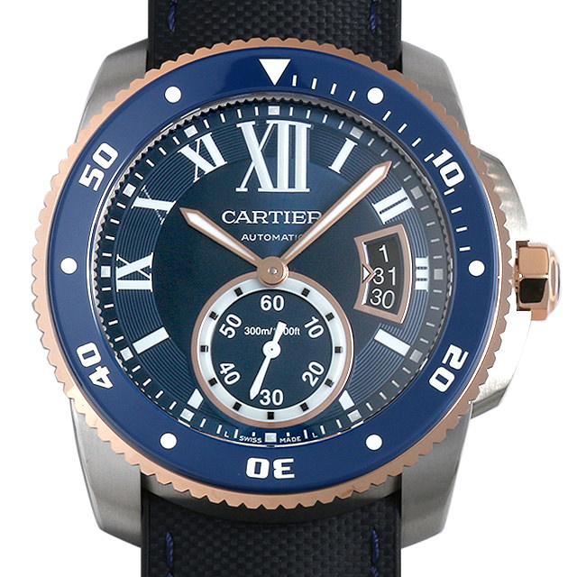 カルティエ カリブル ドゥ カルティエ ダイバー ブルー W2CA0008 メンズ(0FHMCAAN0002)【新品】【腕時計】【送料無料】