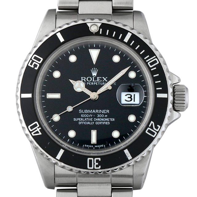 【48回払いまで無金利】SALE ロレックス サブマリーナ デイト 89番 16800 メンズ(0063ROAU0128)【中古】【腕時計】【送料無料】