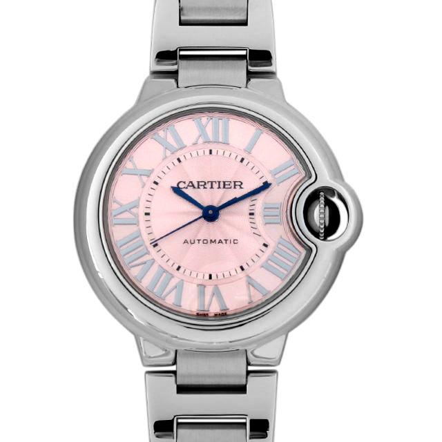 【48回払いまで無金利】カルティエ バロンブルー 33mm W6920100 レディース(006XCAAU0094)【中古】【腕時計】【送料無料】