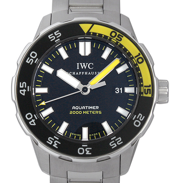 IWC アクアタイマー オートマティック 2000 IW356808 メンズ(006XIWAU0070)【中古】【腕時計】【送料無料】