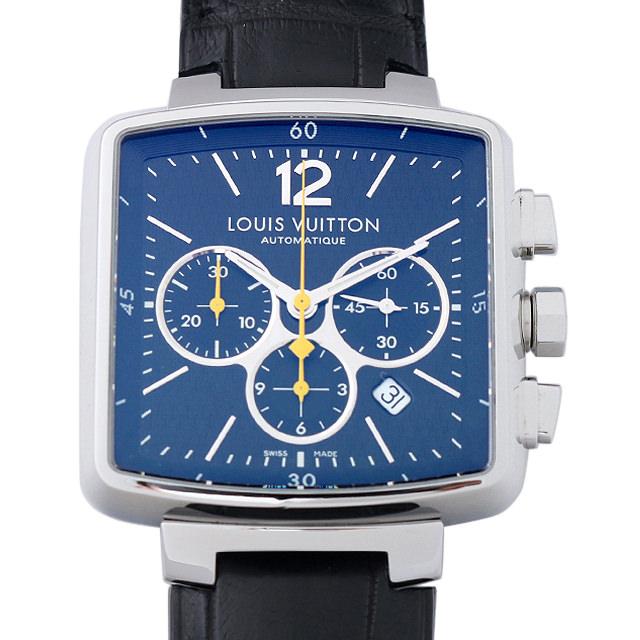 ルイヴィトン スピーディ クロノグラフ Q212G メンズ(007ULVAU0015)【中古】【腕時計】【送料無料】