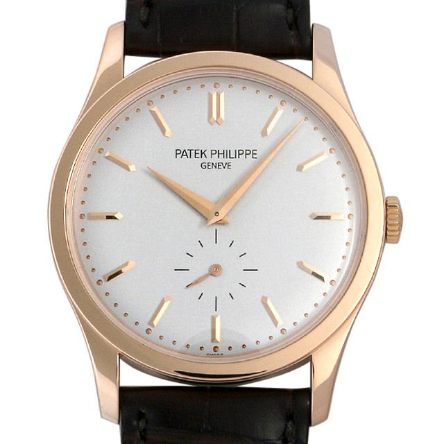 SALE パテックフィリップ カラトラバ 5196R-001 メンズ(007UPPAU0060)【中古】【腕時計】【送料無料】