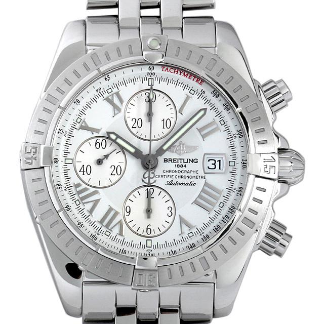 【48回払いまで無金利】ブライトリング クロノマット エボリューション A156A53PA(A13356) メンズ(008WBRAU0031)【中古】【腕時計】【送料無料】