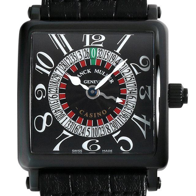 【48回払いまで無金利】SALE フランクミュラー カジノ ノワール 6050H CASINO NR AC メンズ(008WFRAU0070)【中古】【腕時計】【送料無料】