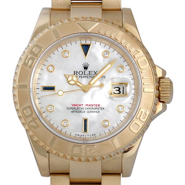 【48回払いまで無金利】SALE ロレックス ヨットマスター 8Pダイヤ/3Pサファイア W番 16628NGS メンズ(008WROAU0160)【中古】【腕時計】【送料無料】