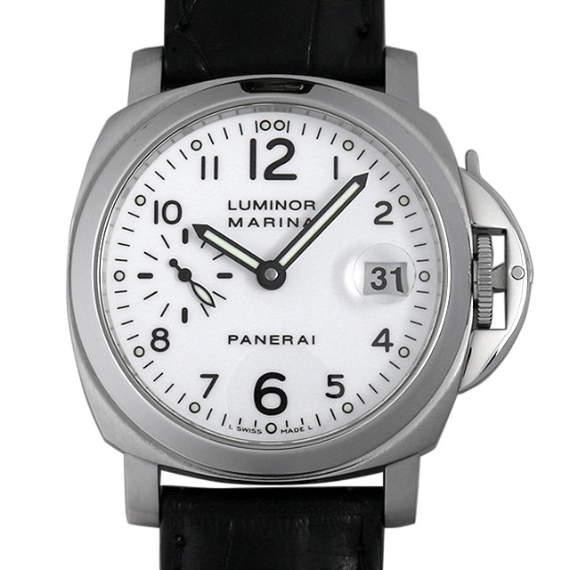 【48回払いまで無金利】パネライ ルミノールマリーナ D番 PAM00049 メンズ(05FLOPAU0001)【中古】【腕時計】【送料無料】