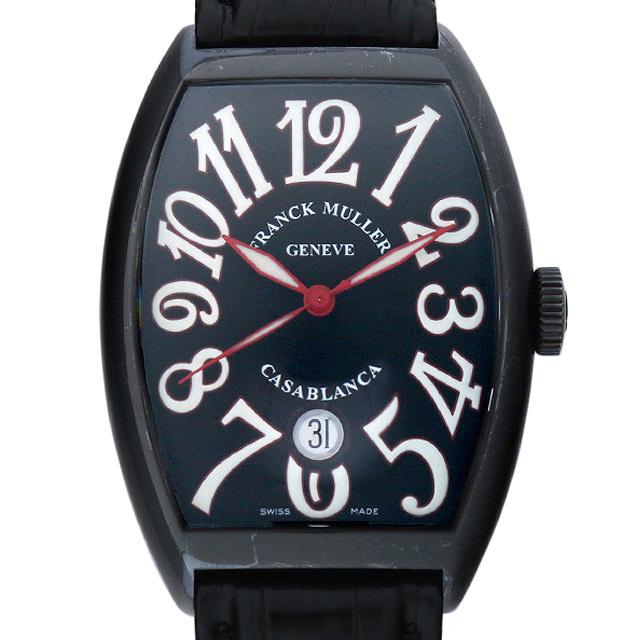 フランクミュラー カサブランカ ノワール 6850C DT NR AC メンズ(0ARFFRAU0001)【中古】【腕時計】【送料無料】