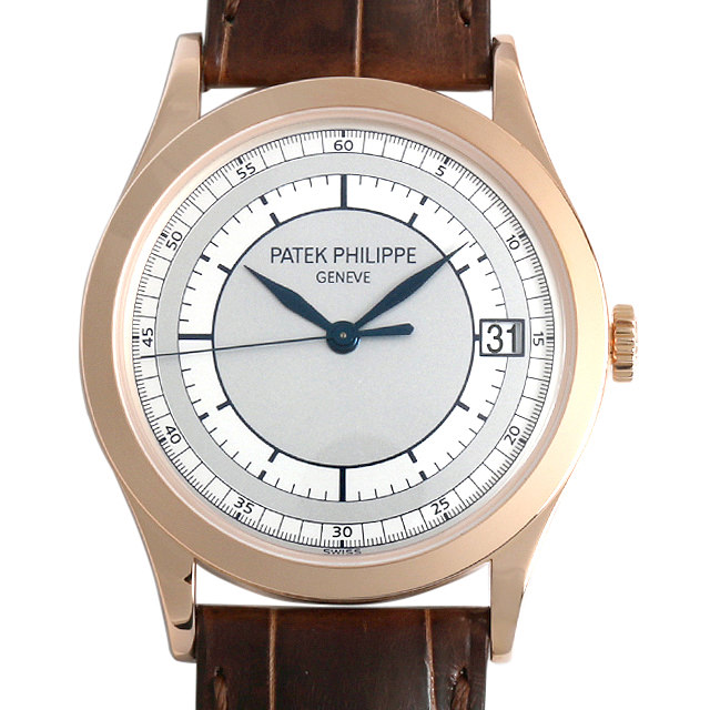 パテックフィリップ カラトラバ 5296R-001 メンズ(0AXBPPAU0003)【中古】【腕時計】【送料無料】