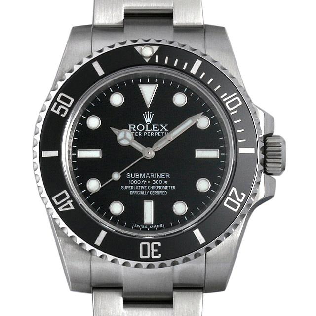 SALE ロレックス サブマリーナ ノンデイト ランダムシリアル 114060 メンズ(0BA3ROAU0002)【中古】【腕時計】【送料無料】