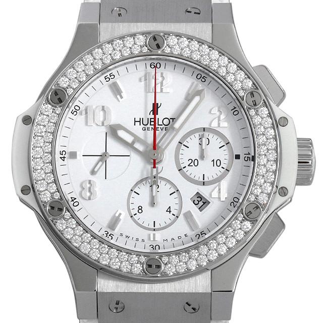 【48回払いまで無金利】ウブロ ビッグバン オールホワイト ダイヤモンド 301.SE.230.RW.114 メンズ(0BV2HBAU0001)【中古】【腕時計】【送料無料】
