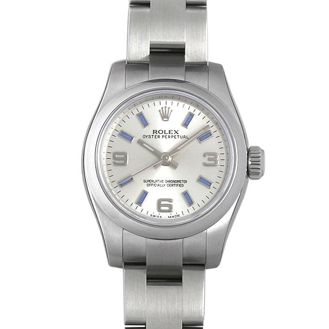 【48回払いまで無金利】ロレックス オイスターパーペチュアル 176200 レディース(0066ROAN0106)【新品】【腕時計】【送料無料】