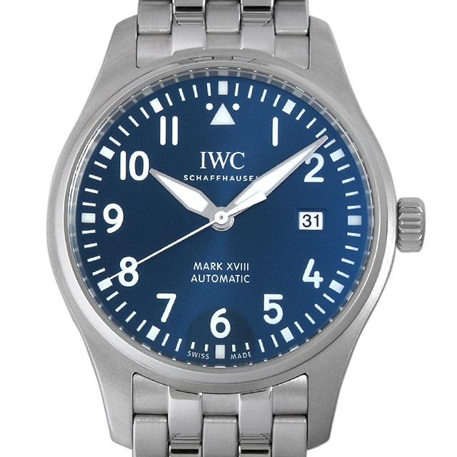 【48回払いまで無金利】IWC パイロットウォッチ マーク18 プティ・プランス IW327014 メンズ(0088IWAN0072)【新品】【腕時計】【送料無料】