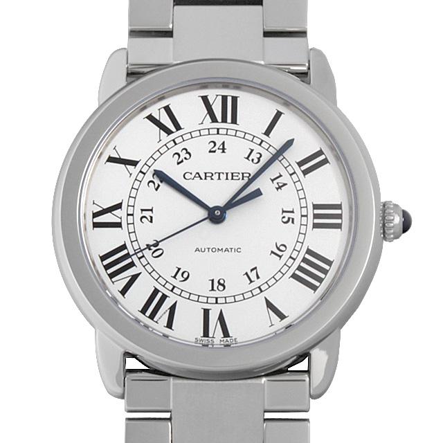 【48回払いまで無金利】カルティエ ロンドソロ ドゥ カルティエ LM WSRN0012 メンズ(0066CAAN0774)【新品】【腕時計】【送料無料】