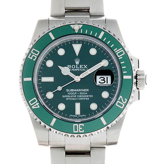 【48回払いまで無金利】ロレックス サブマリーナ デイト 116610LV ランダムシリアル メンズ(0OE0ROAS0001)【中古】【未使用】【腕時計】【送料無料】