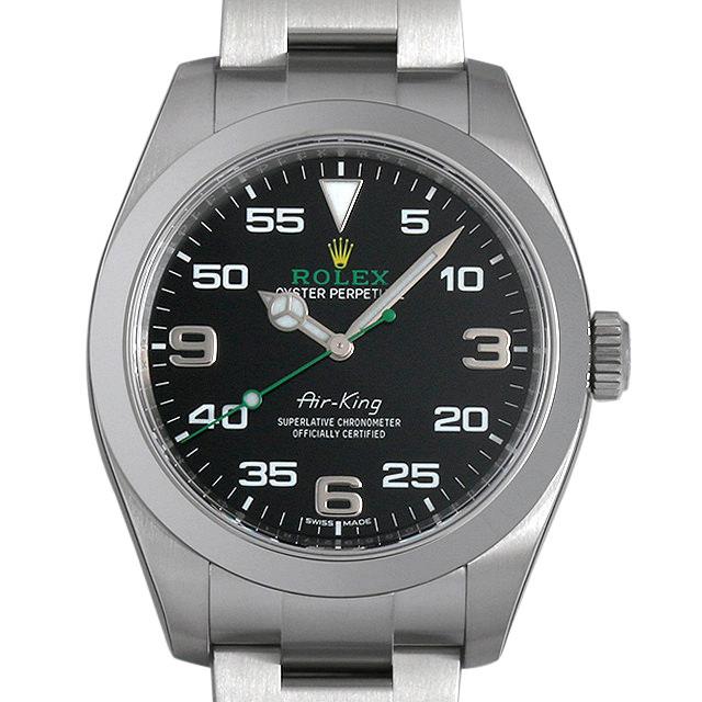 【48回払いまで無金利】ロレックス エアキング 116900 メンズ(0094ROAS0002)【中古】【未使用】【腕時計】【送料無料】
