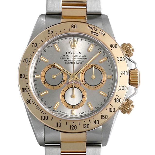 【48回払いまで無金利】ロレックス コスモグラフ デイトナ U番 16523 グレー メンズ(0063ROAU0149)【中古】【腕時計】【送料無料】