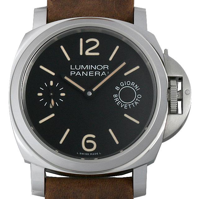 パネライ ルミノールベース 8DAYS アッチャイオ R番 PAM00590 メンズ(006XOPAU0082)【中古】【腕時計】【送料無料】