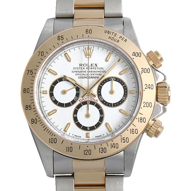 【48回払いまで無金利】SALE ロレックス コスモグラフ デイトナ X番 16523 逆6ダイアル ホワイト メンズ(006XROAU0463)【中古】【腕時計】【送料無料】