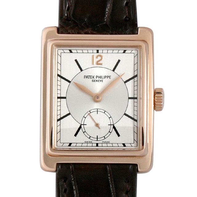 パテックフィリップ ゴンドーロ 5010R-001 メンズ(009VPPAU0076)【中古】【腕時計】【送料無料】