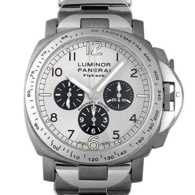 【48回払いまで無金利】SALE パネライ ルミノール フライバッククロノグラフ C番 PAM00060 メンズ(01PUOPAU0001)【中古】【腕時計】【送料無料】