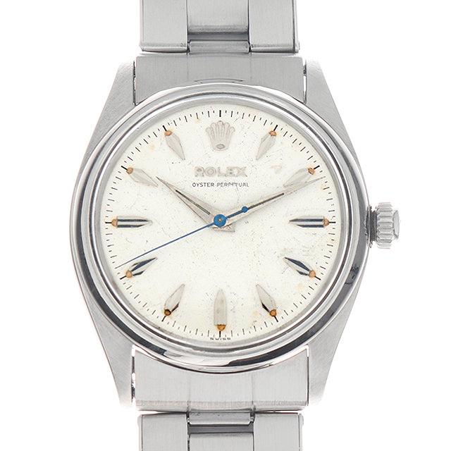【48回払いまで無金利】ロレックス オイスターパーペチュアル 15番 ホワイト 6564 メンズ(0A96ROAA0001)【アンティーク】【腕時計】【送料無料】