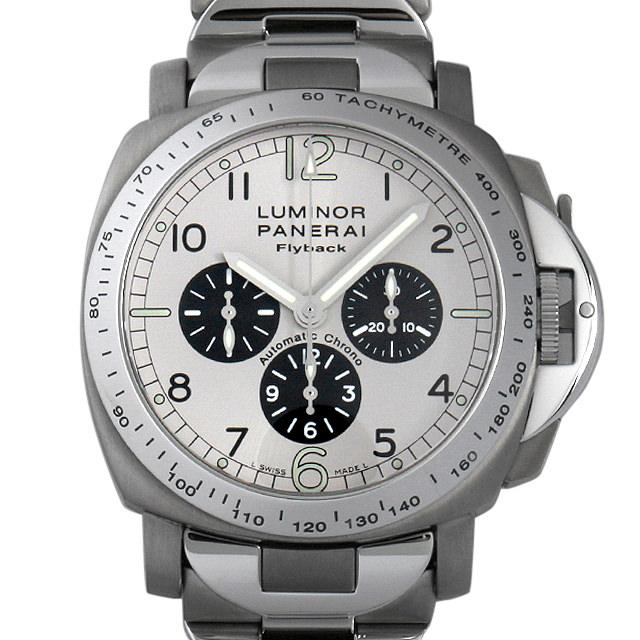 【48回払いまで無金利】SALE パネライ ルミノール フライバッククロノグラフ C番 PAM00060 メンズ(0BNAOPAU0001)【中古】【腕時計】【送料無料】