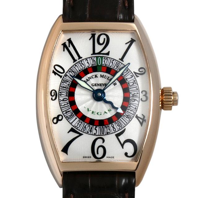 【48回払いまで無金利】フランクミュラー ヴェガス 5850VEGAS 4N メンズ(0C4QFRAU0001)【中古】【腕時計】【送料無料】