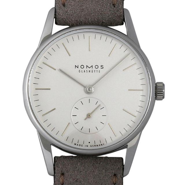 【48回払いまで無金利】ノモス オリオン 33 ホワイト OR1A3SW233(324) メンズ(002GNOAR0018)【新品】【腕時計】【送料無料】