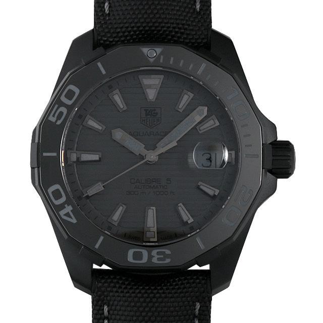 【48回払いまで無金利】タグホイヤー アクアレーサー キャリバー5 ブラックファントム 限定モデル WAY218B.FC6364 メンズ(002GTHAR0028)【新品】【腕時計】【送料無料】